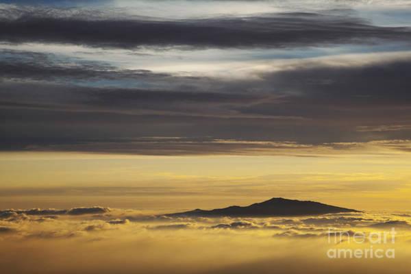 Photograph - Hualalai Volcano Sunset by Charmian Vistaunet