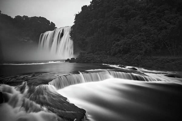 Chinese Photograph - Huangguoshu Waterfalls by Yan Zhang