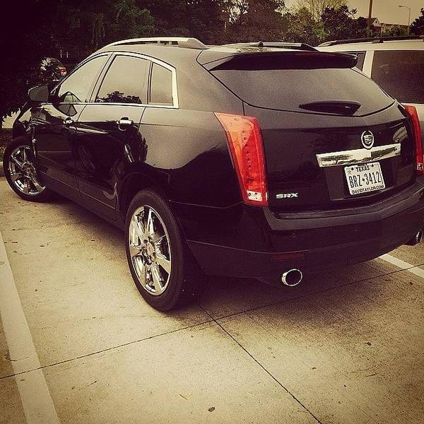 Cadillac Photograph - #hubs Cleaned The Whip! #shinyshine by Laura Truby