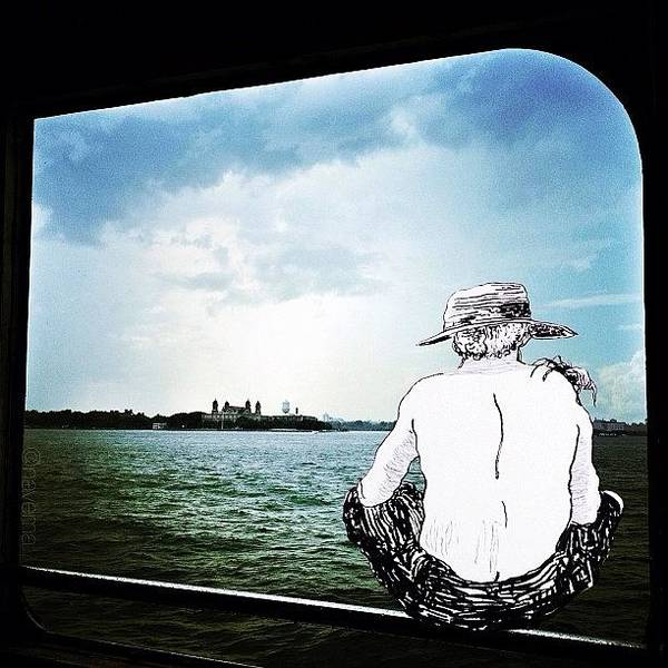 Illustration Wall Art - Photograph - Huck On The Hudson by Natasha Marco