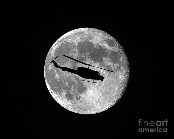 Bell Photograph - Huey Moon by Al Powell Photography USA