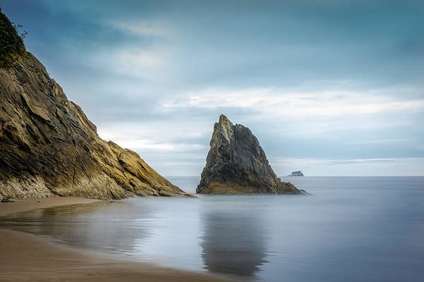 Photograph - Hug Point State Park by Carrie Cole