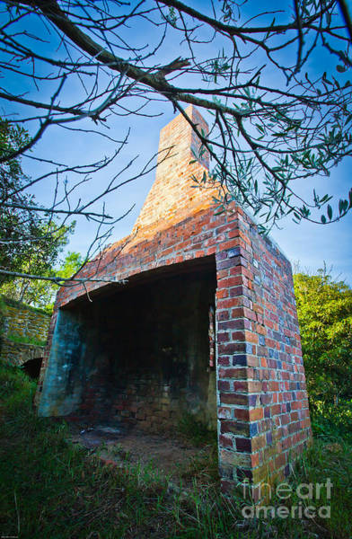 Chimnies Photograph - Huge Chimny by Alexander Whadcoat
