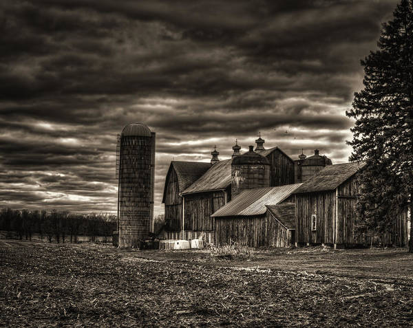 Photograph - Huge Wisconsin Farm by Thomas Young