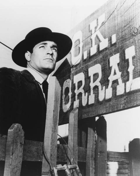 Wall Art - Photograph - Hugh O'brian In The Life And Legend Of Wyatt Earp by Silver Screen