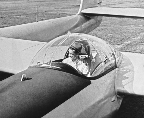 Inventor Photograph - Hughes New Fx-11 Plane by Underwood Archives