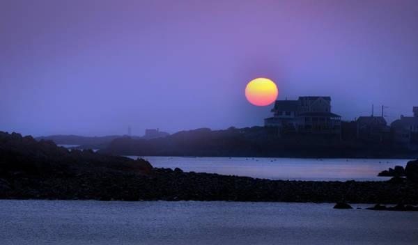 Hull Of A Sunrise Art Print