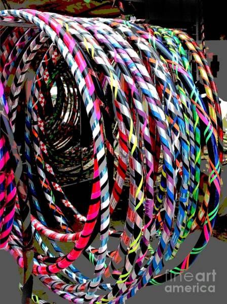 Huly Hoops Art Print