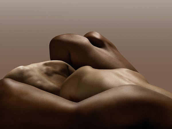 Rear View Photograph - Human Bodies, Abstract by Jonathan Knowles