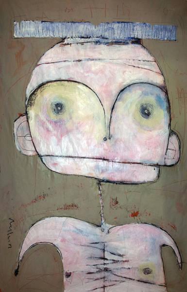 Charcoal Painting - 'humanitas No. 2'  by Mark M  Mellon