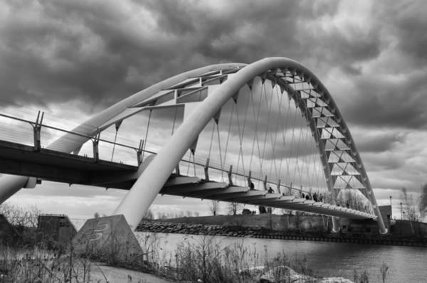 Photograph - Humber River Arch Bridge 1385 by Guy Whiteley