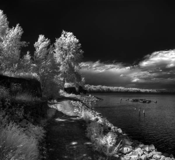 Photograph - Humbird Ruins And Lake Pdo by Lee Santa