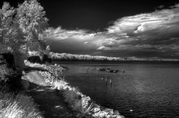 Photograph - Humbird Ruins In Infrared by Lee Santa