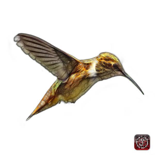 Digital Art - Hummingbird - 2054 F S by James Ahn