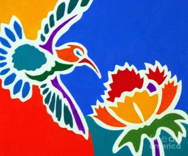 Hummingbird Number Two Art Print by Stephen Davis