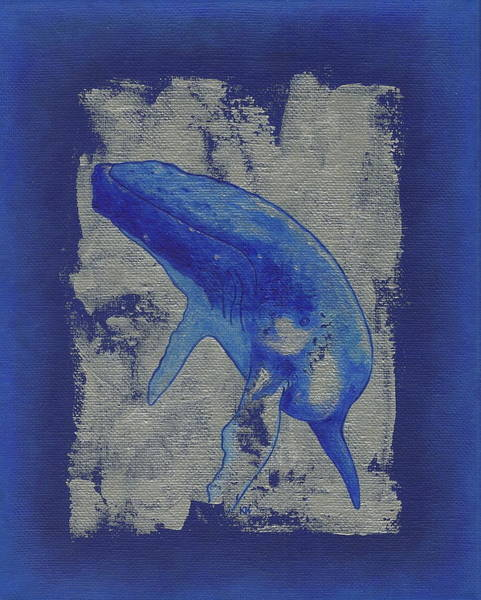 Painting - Humpback Whale Song by Konni Jensen