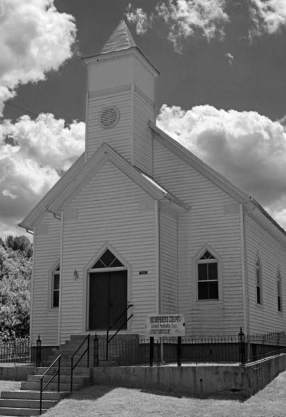 Wall Art - Photograph - Humphreys Chapel - Craig County Virginia by Suzanne Gaff