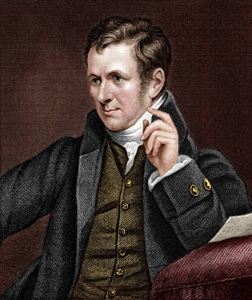 Electrolysis Wall Art - Photograph - Humphry Davy (1778-1829) by Sheila Terry/science Photo Library