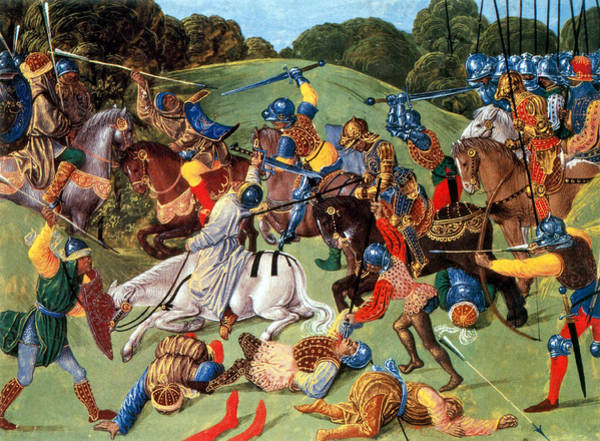 Wall Art - Photograph - Hundred Years War, 1337-1453 by Science Source