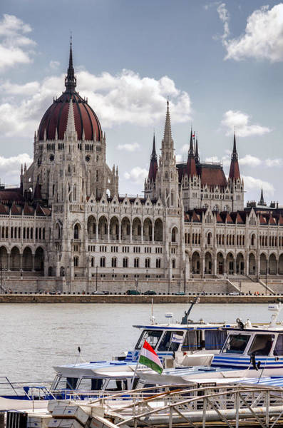 Wall Art - Photograph - Hungarian Parliament Across The Danube by Pablo Lopez