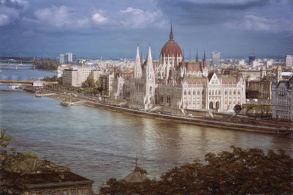 Parliament Photograph - Hungarian Parliament Building by Joan Carroll
