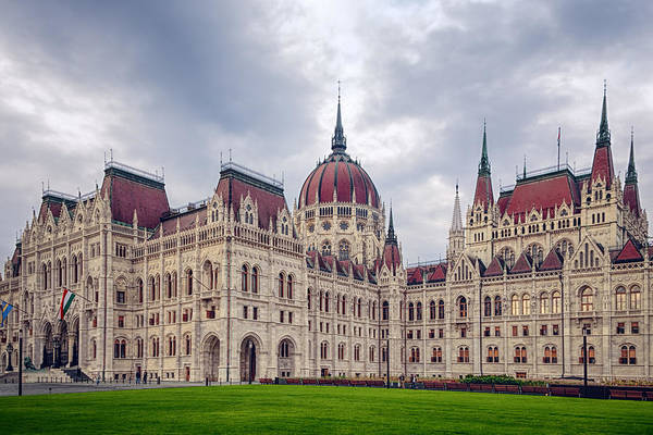 Photograph - Hungarian Parliament  by Joan Carroll