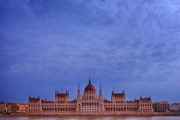 Photograph - Hungarian Parliament Winter Day by Joan Carroll