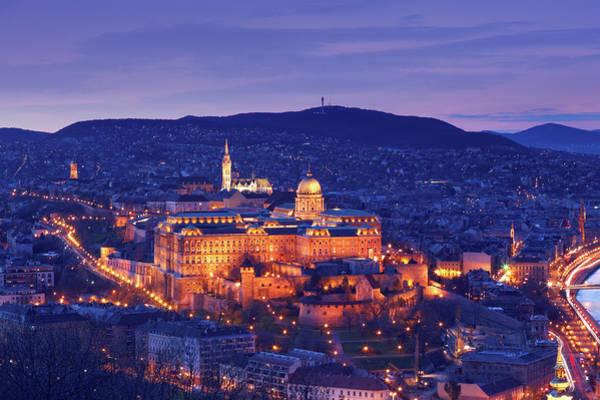 Buda Photograph - Hungarian Royal Palace by Mammuth