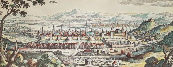 Painting - Hungary Buda, 1638 by Granger