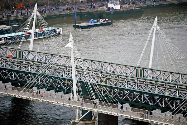 Photograph - Hungerford Bridge by Christi Kraft