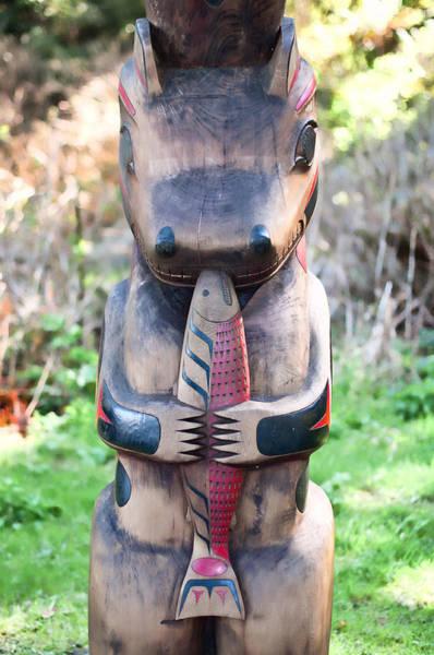 Nikon D5000 Photograph - Hungry Bear Totem  by James Wheeler
