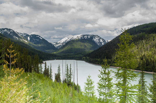 Photograph - Hungry Horse Reservoir by Fran Riley