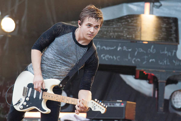 Summerfest Photograph - Hunter Hayes by Mike Burgquist