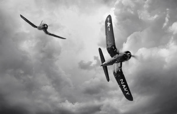 World War 2 Digital Art - Hunters by Peter Chilelli