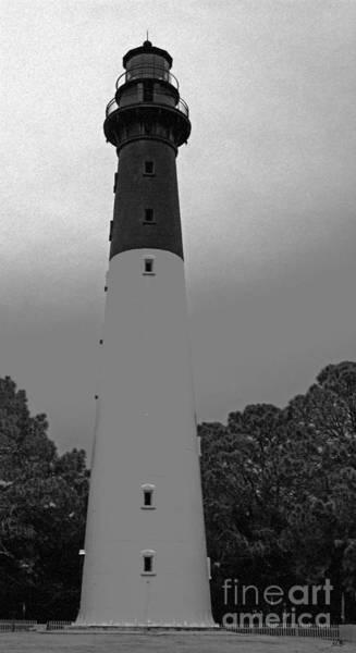 Hunting Island Lighthouse Wall Art - Photograph - Hunting Island Lighthouse by Sandra Clark