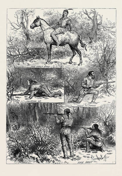 Minnesota Drawing - Hunting Sketches Among The Indians Of Minnesota 1880 by American School