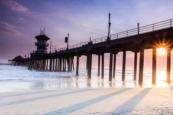 Photograph - Huntington Pier by Tassanee Angiolillo