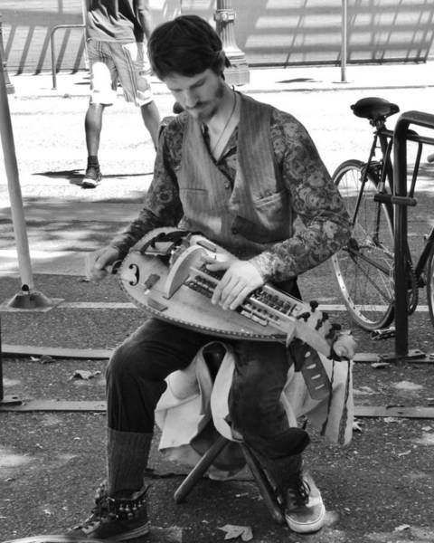 Photograph - Hurdy Gurdy Man by Charles Lucas