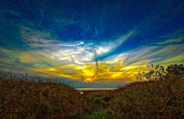 Sauble Beach Photograph - Huron Evening 2 Oil by Steve Harrington