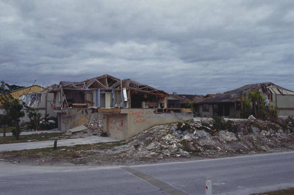 Wall Art - Photograph - Hurricane Andrew Aftermath by Carleton Ray