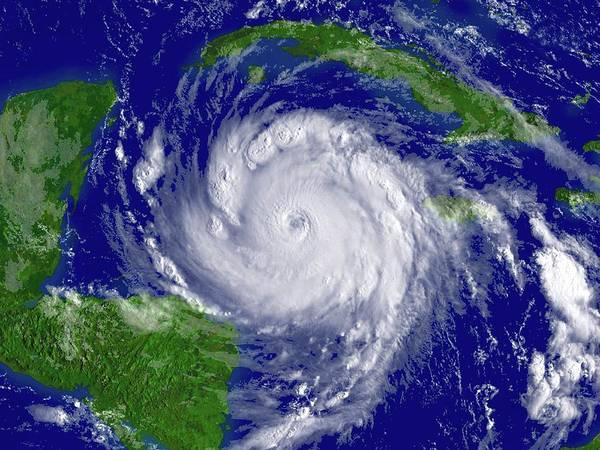 Yucatan Wall Art - Photograph - Hurricane Dean by Noaa/science Photo Library
