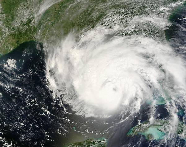 31st Photograph - Hurricane Gustav by Nasa/science Photo Library
