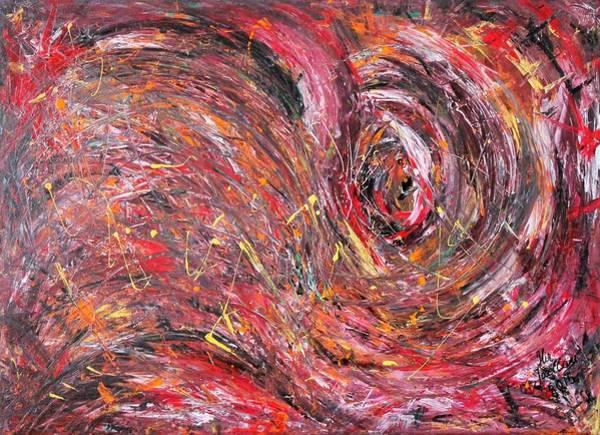Acrilic Painting - Hurricane by Ilir Jacellari
