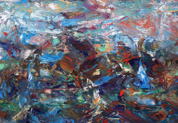 Expressionism Painting - Hurricane by James W Johnson