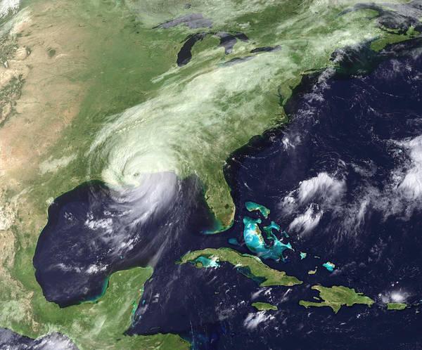 Wall Art - Photograph - Hurricane Katrina by Noaa/science Photo Library