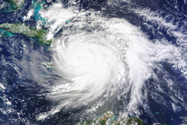 Wall Art - Photograph - Hurricane Matthew Makes Landfall by Science Source