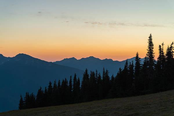 Photograph - Hurricane Ridge Sunset by Kristopher Schoenleber