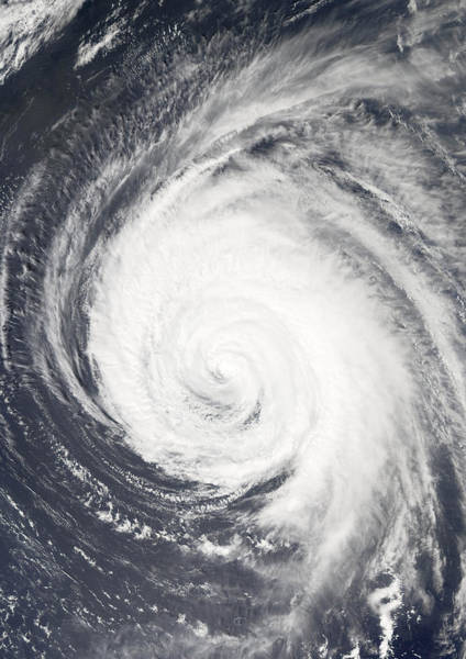 Cyclone Wall Art - Photograph - Hurricane by Unknown