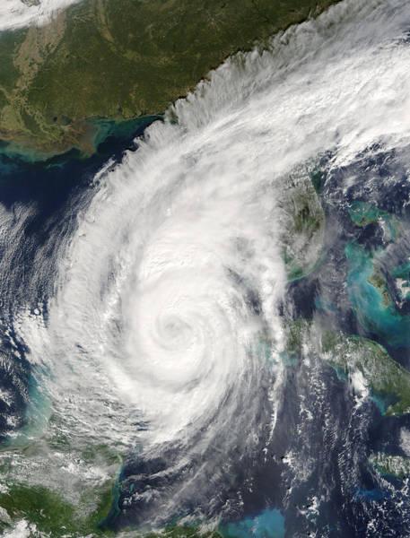 Wall Art - Photograph - Hurricane Wilma by Nasa/science Photo Library