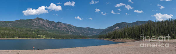 Photograph - Hyalite Reservoir -- East View by Charles Kozierok